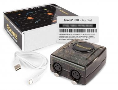 Beamz interfaccia wifi usb dmx + light rider esa2