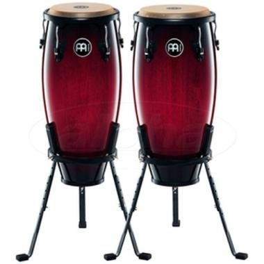 "MEINL HC555WRB SET DI CONGAS 10"" 11"" WINE RED BURS"