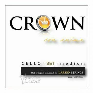 Larsen 638825 crown medium muta di corde per violoncello