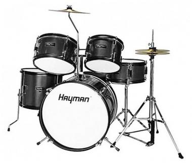 Hayman hm50bk black batteria acustica junior