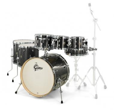 Gretsch catalina maple black stardust 7 pezzi