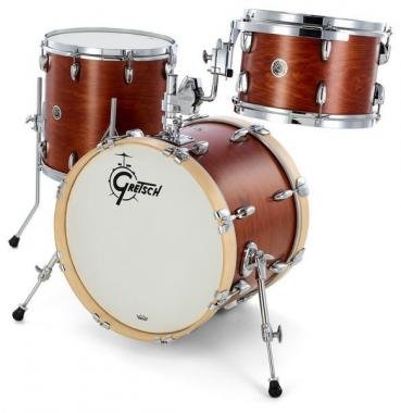 Gretsch brooklyn satin mahogany 18-12-14
