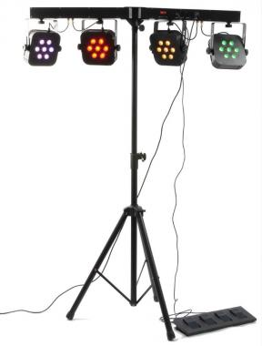 Beamz led parbar 4way kit 4-7x10w quad dmx