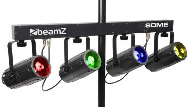 Beamz light set 4some black dmx