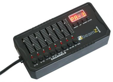Beamz dmx-512mini controller, batt powered