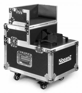 Beamz hz3000 pro haze machine flightcase