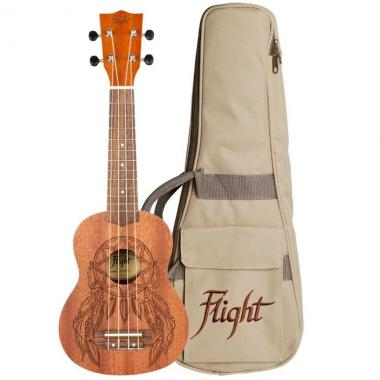 Flight nus350dc dreamcatcher ukulele soprano