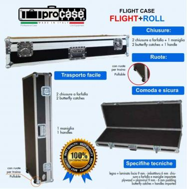 CUSTODIA FLIGHT CASES  PER ROLAND Go Piano 88