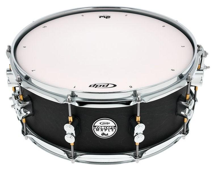 "PDP RULLANTE 14X5,5"" CONCEPT BLACK WAX"
