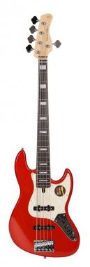 Marcus miller v7 alder-5 (2nd gen) bmr metallic red