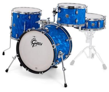 Gretsch  Shell-set Catalina Club 18-12-14-14x5 Blue Satin Flame
