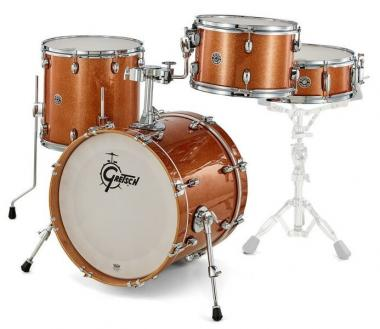 Gretsch  Shell-set Catalina Club 18-12-14-14x5 Bronze Sparkle