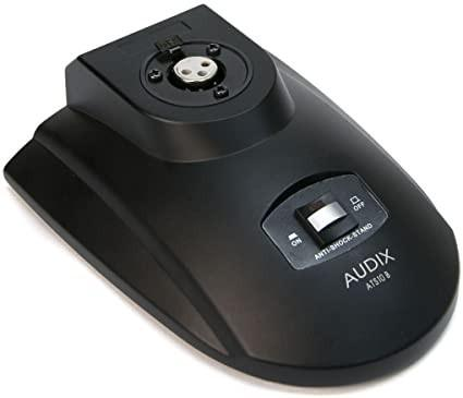 Audix ats10 base da tavolo con interruttore on/off