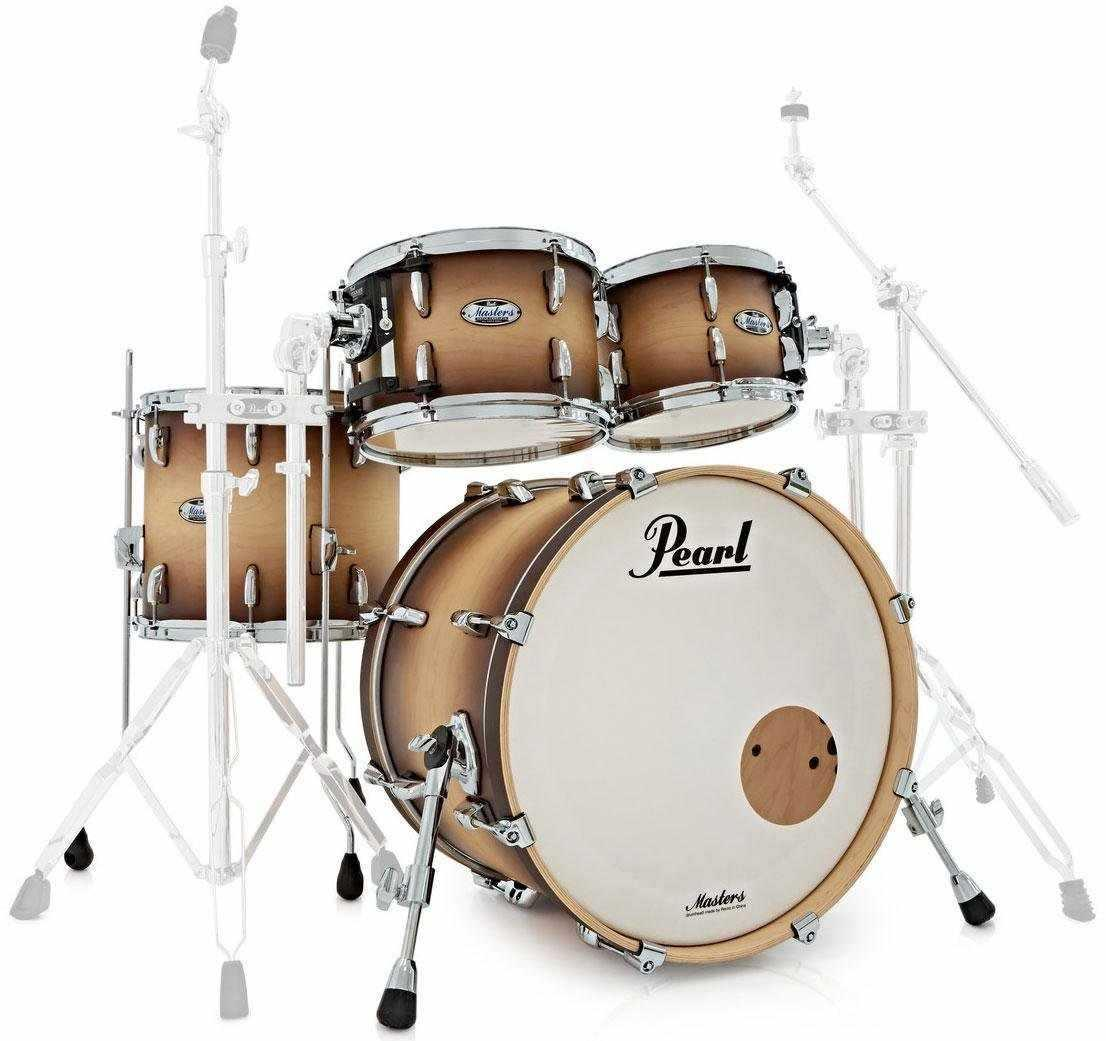 PEARL MASTER MCT924XEP/C351 Shellset Satin Natural Burst