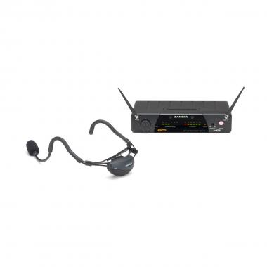 SAMSON AIRLINE 77 UHF Vocal Headset System - E4 (864.875 MHz)