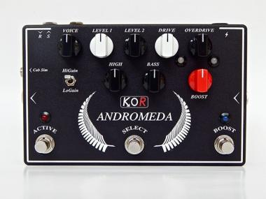 Andromeda plus drive/overdrive/boost