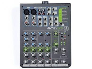 Ant antmix 6fx mixer 6 canali