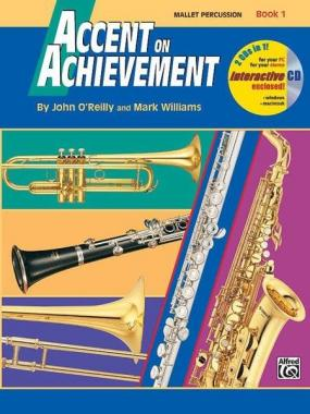 Accent on achievement vol.1 mallet percussion john o'reilly
