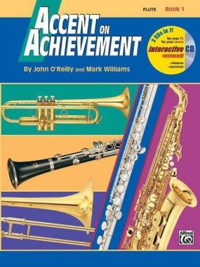 Accent of achievement vol.1+ cd per flauto traverso john o'reilly
