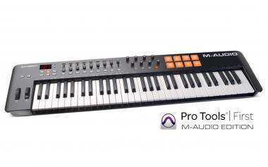 M-audio oxygene 61 4th generation master keyboard