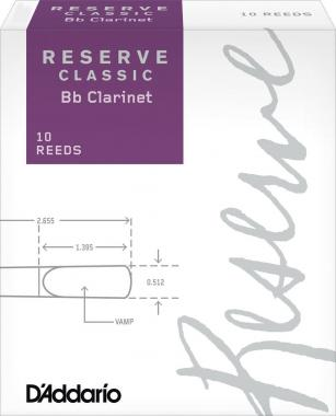 10 ANCE RESERVE CLASSIC CLARINETTO Bb N.2